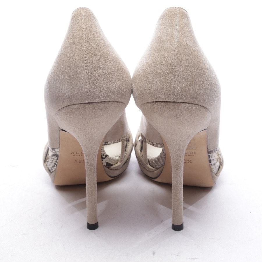pumps from Gucci in beige and brown size D 36,5 - new
