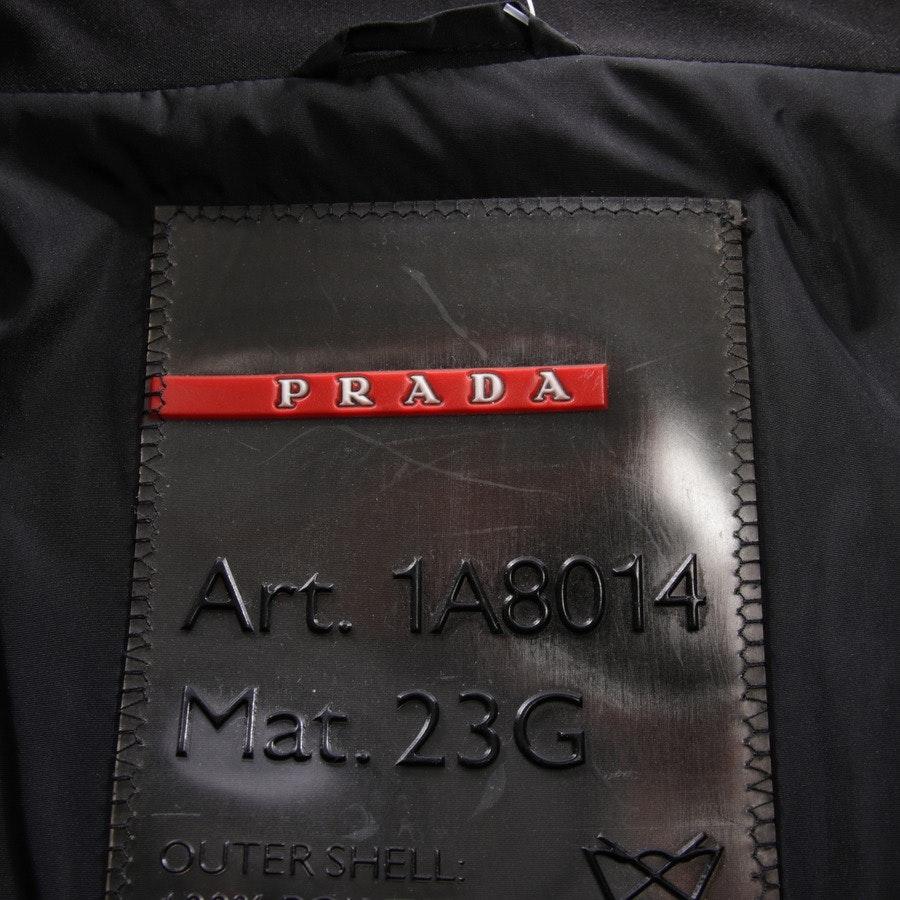 Übergangsjacke von Prada Linea Rossa in Schwarz Gr. 40 IT 46
