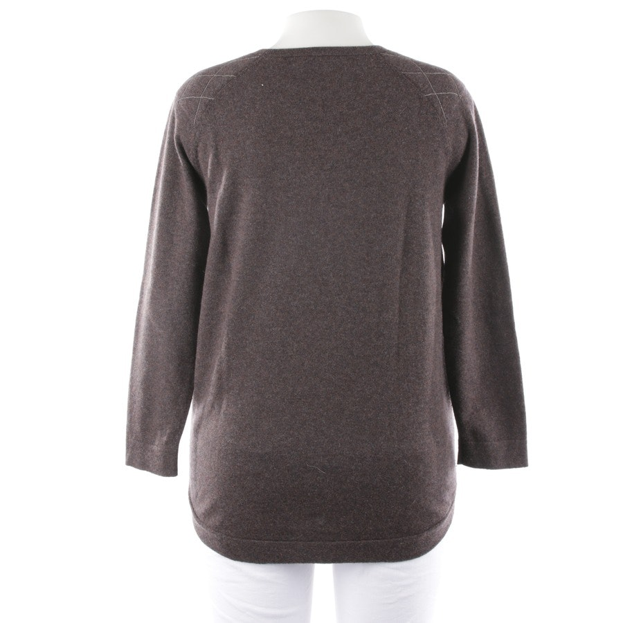 knitwear from Brunello Cucinelli in anthracite and brown size M