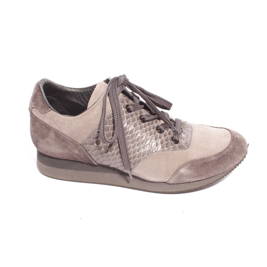 trainers from Max Mara in brown and grey size D 38