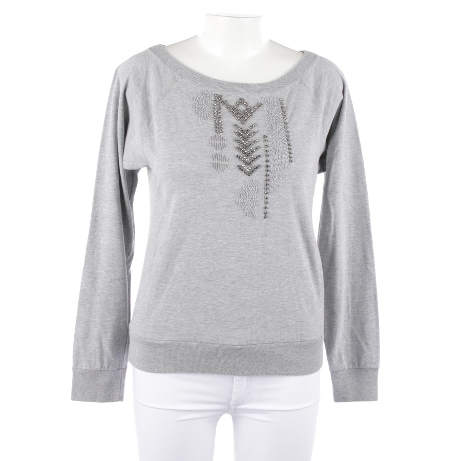 Sweatshirt von Marc Cain Sports in Grau meliert Gr. 38 N 3