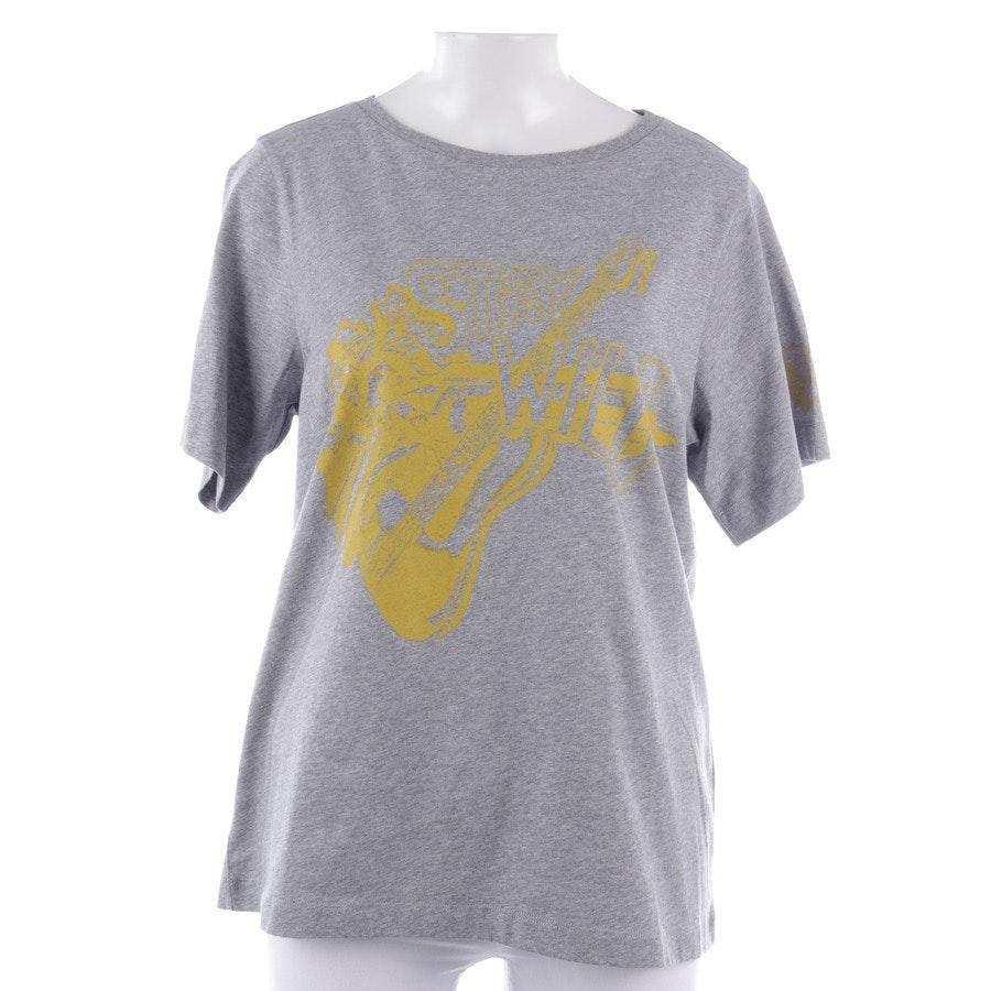 Shirt von Dorothee Schumacher in Grau meliert und Gelb Gr. 36 / 2