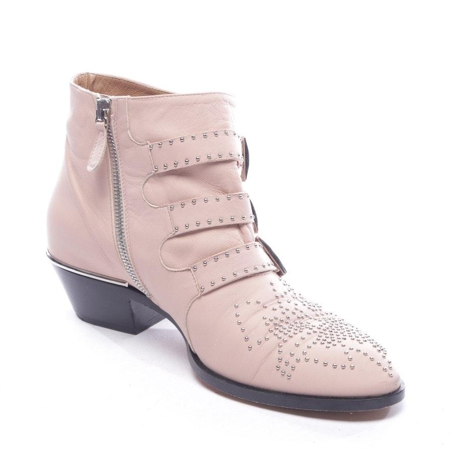 Stiefeletten von Chloé in Zartrosa Gr. EUR 37 - Susanna Boot
