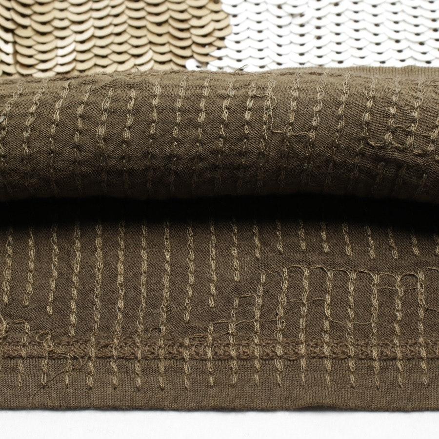 Paillettenkleid von Michael Kors in Schwarz und Weiß Gr. S - Neu