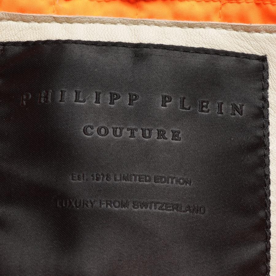 Lederjacke von Philipp Plein in Beige Gr. M - Neu