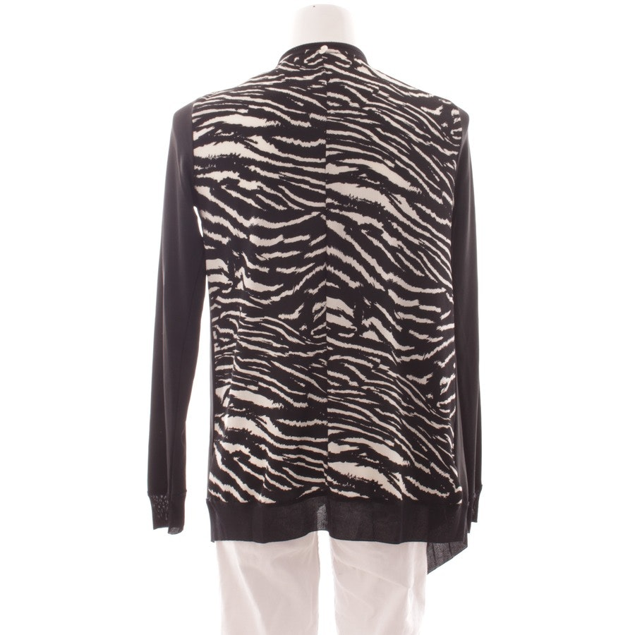 knitwear from Rich & Royal in black and white size S