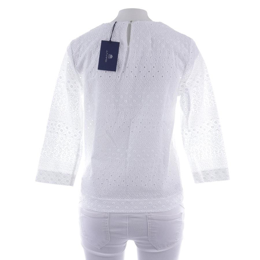 Bluse von Gant in Weiß Gr. 34