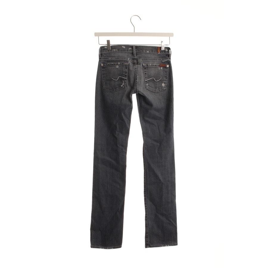Jeans von 7 for all mankind in Blau Gr. W24 - Straight Leg