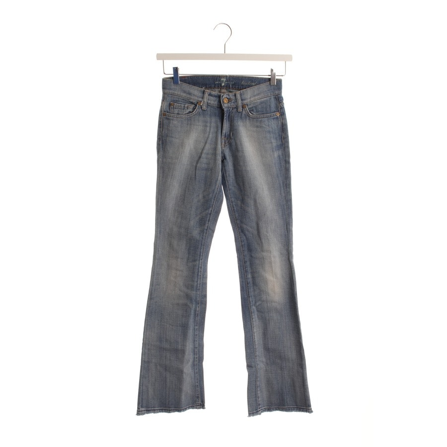 jeans from 7 for all mankind in blue size W24 - bootcut