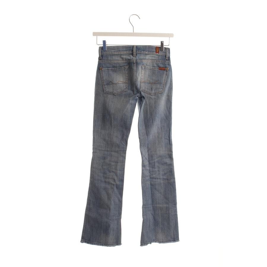 Jeans von 7 for all mankind in Blau Gr. W24 - Bootcut