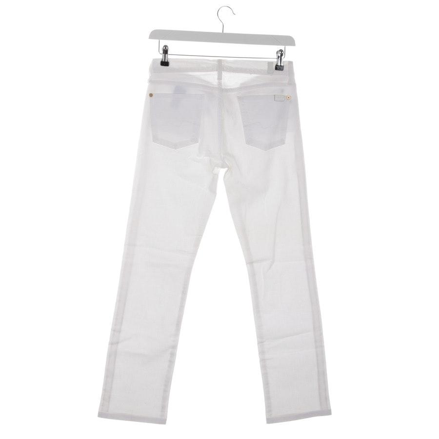 Jeans von 7 for all mankind in Weiß Gr. W29 - Straight Leg