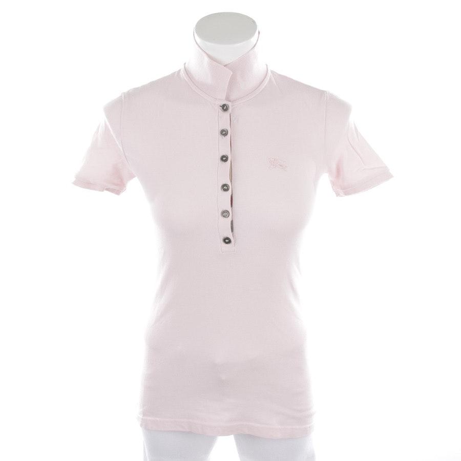 Poloshirt von Burberry Brit in Zartrosa Gr. XS
