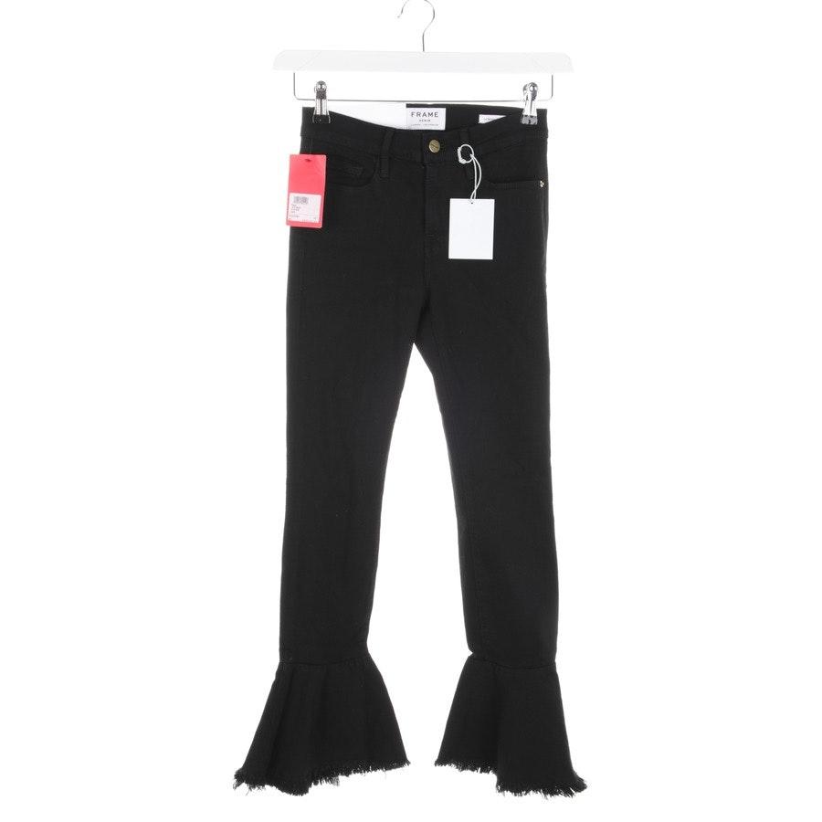 Jeans von Frame in Schwarz Gr. W25 - Le Skinny de Jean-Neu
