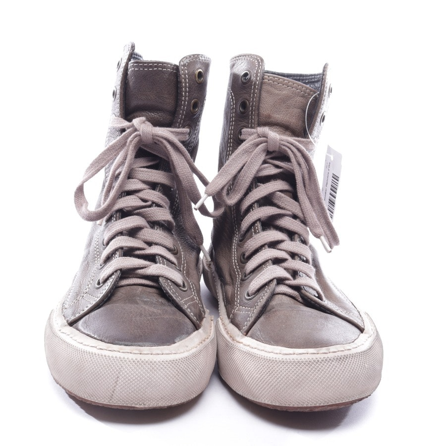 High-Top Sneakers von Pantofola d'Oro in Olivgrün Gr. D 40 UK 7