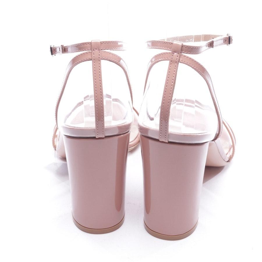 Sandaletten von Gianvito Rossi in Transparent und Rosa Gr. D 39 - Neu