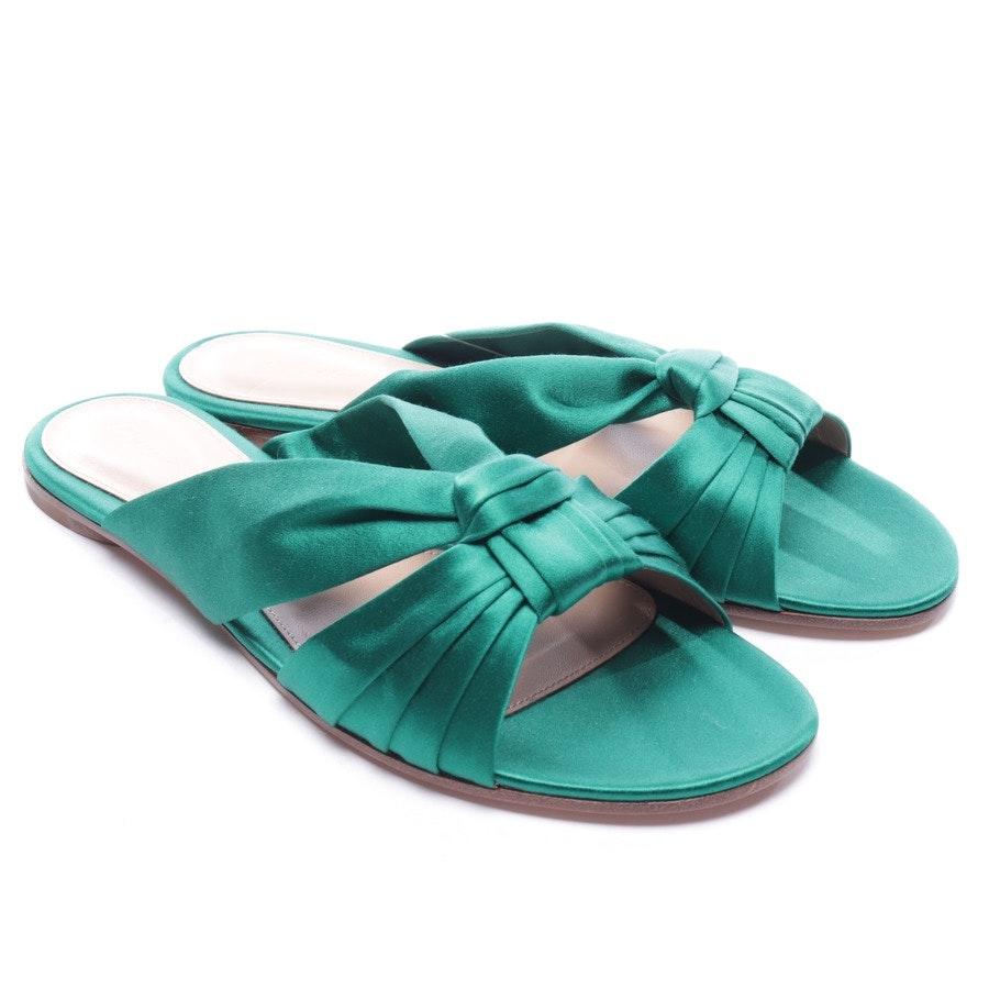 Sandalen von Gianvito Rossi in Smaragdgrün Gr. D 40 - Neu