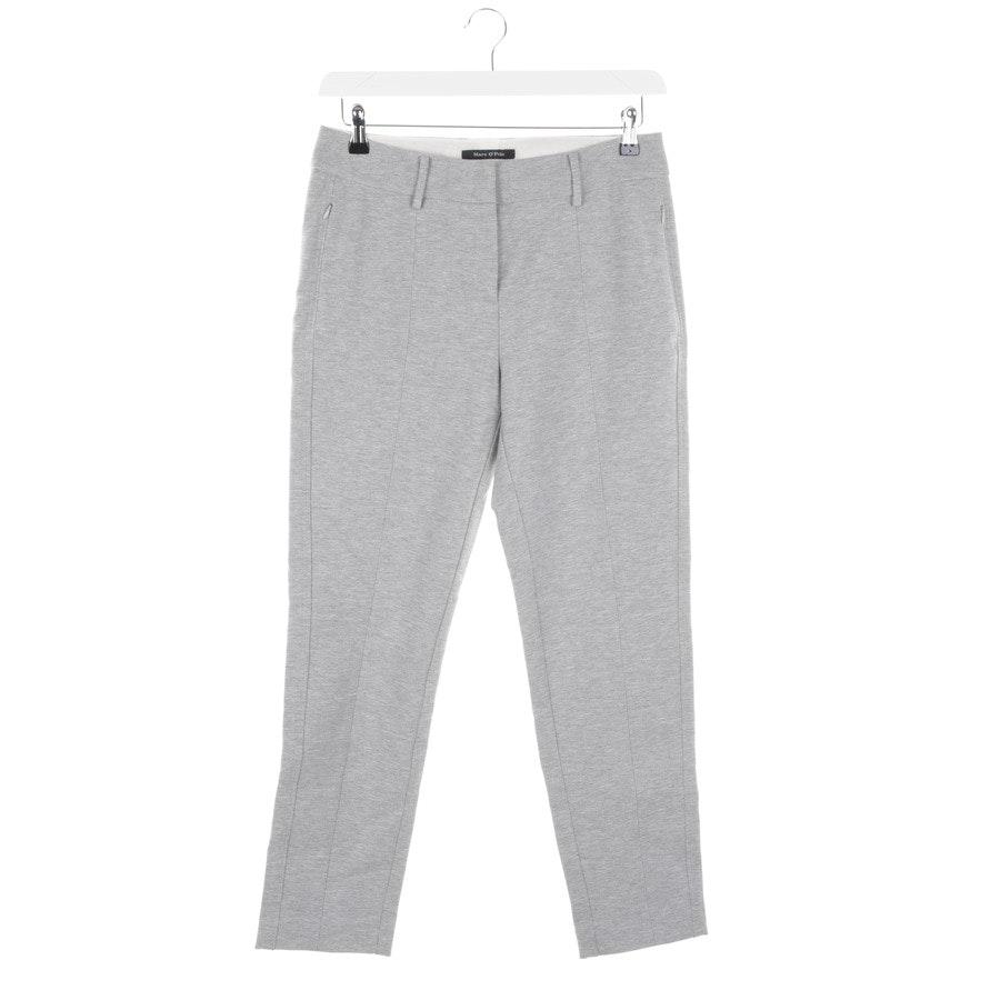 Hose von Marc O'Polo in Grau Gr. 38 - Loen