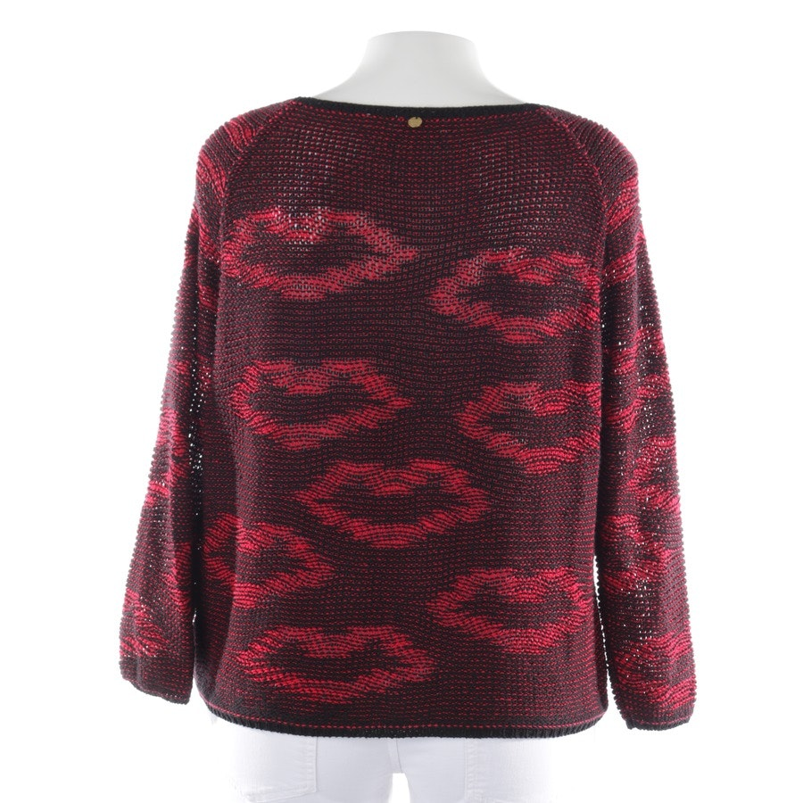 knitwear from Rich & Royal in black and red size XL
