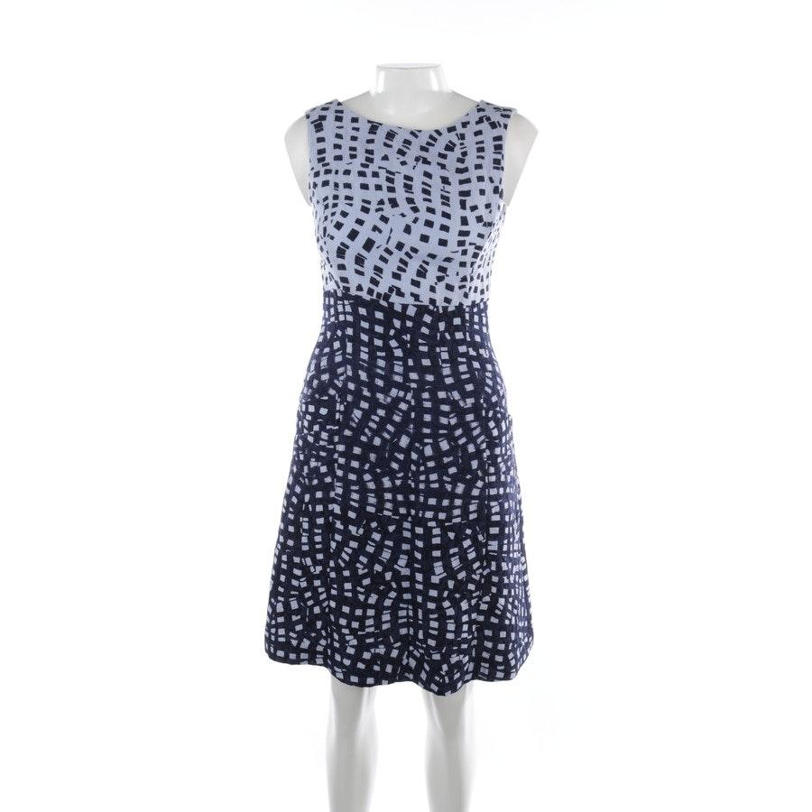 Sommerkleid von Oscar de la Renta in Marineblau und Blau Gr. 36