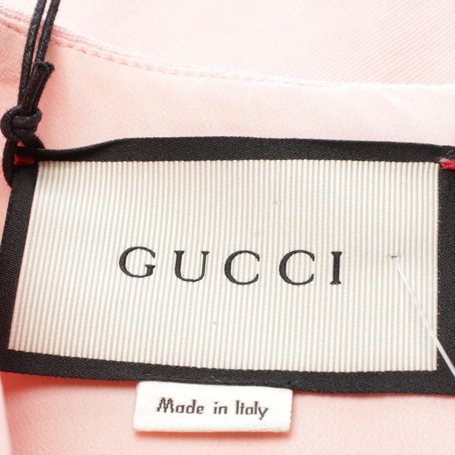 Minikleid von Gucci in Altrosa und Schwarz Gr. 32 FR 38 - Neu