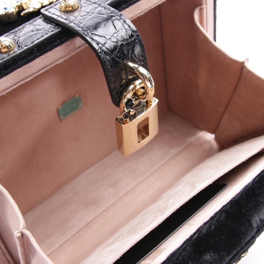 Abendtasche von Dolce & Gabbana in Schwarz und Mehrfarbig - Embelished - Neu