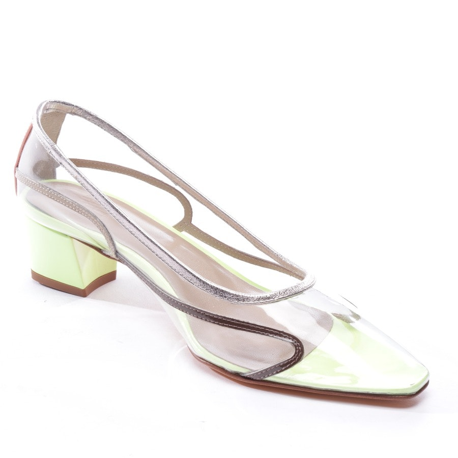 pumps from Maryam Nassir Zadeh in transparent and multicolor size D 36 - new