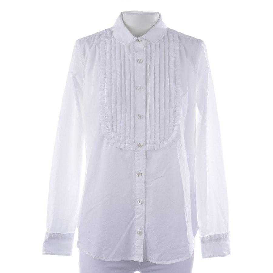 Bluse von J.CREW in Weiß Gr. 36