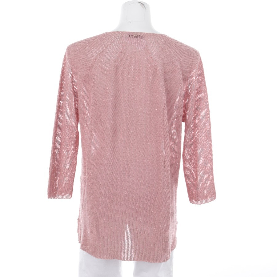 knitwear from Rich & Royal in old pink and silver size S