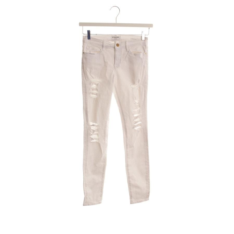 Jeans von Frame in Weiß Gr. W28