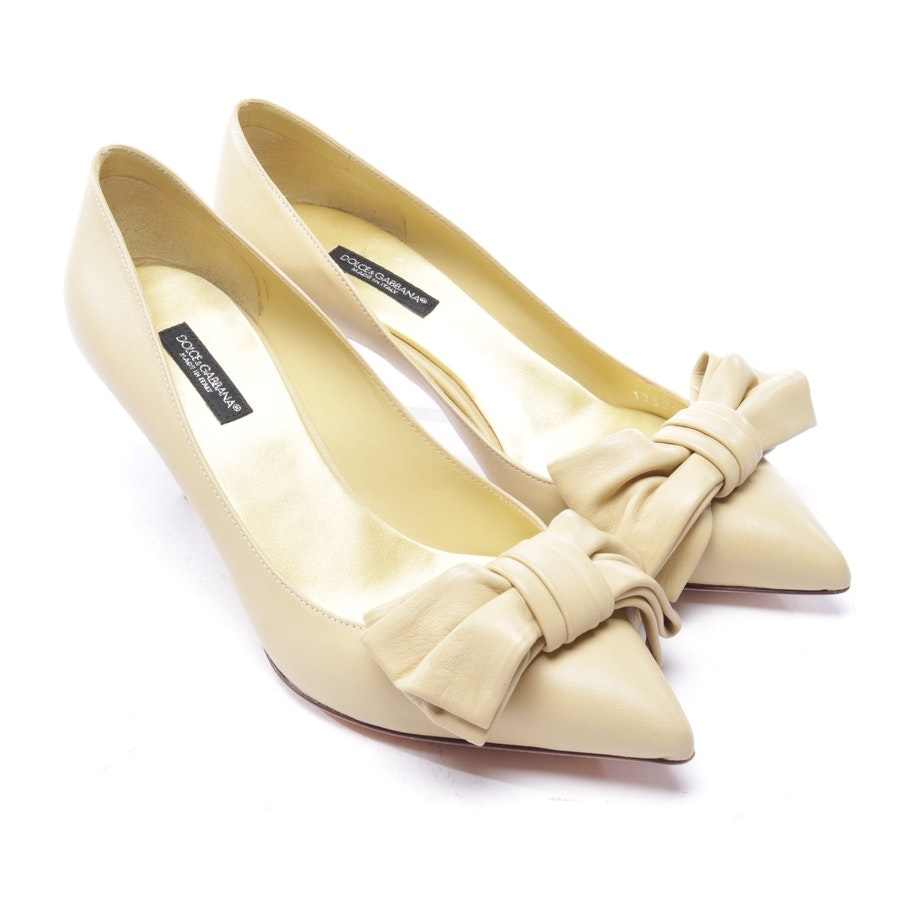 pumps from Dolce & Gabbana in yellow size D 35,5 - new
