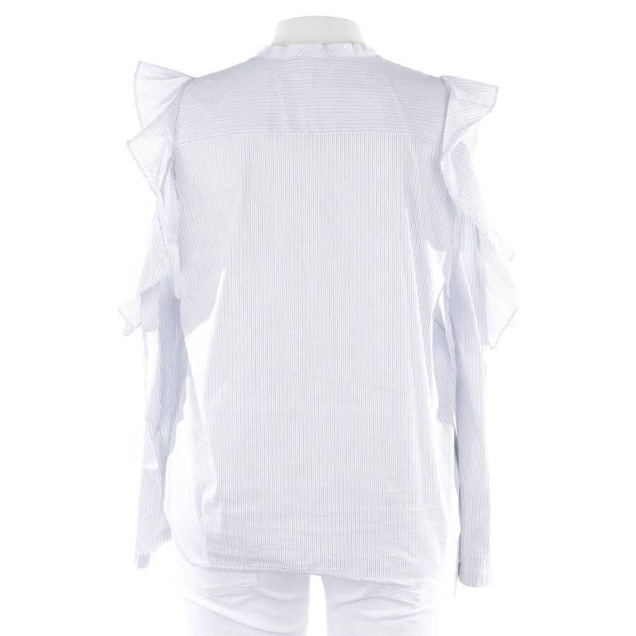 blouses & tunics from Dorothee Schumacher in white and blue size 42 / 5