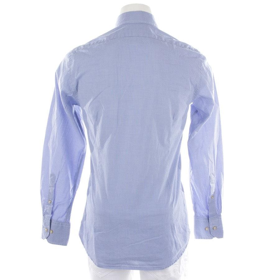 Businesshemd von 0039 Italy in Weiß und Blau Gr. S