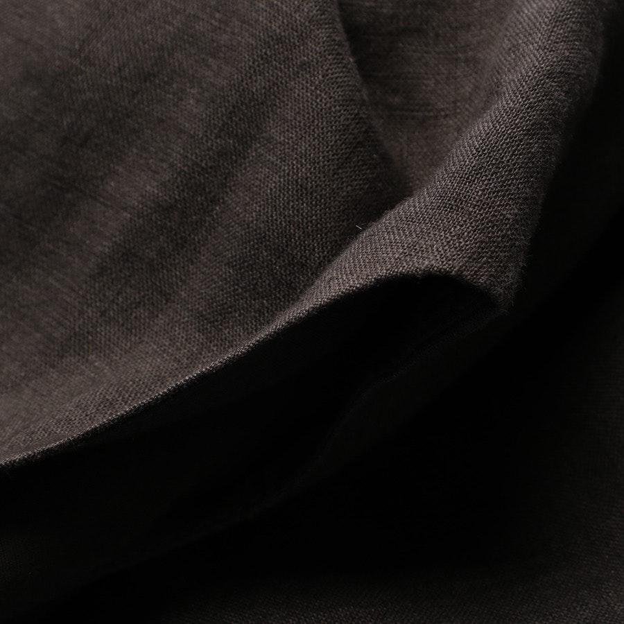Leinenkleid von Hugo Boss Black Label in Dunkelbraun Gr. 36