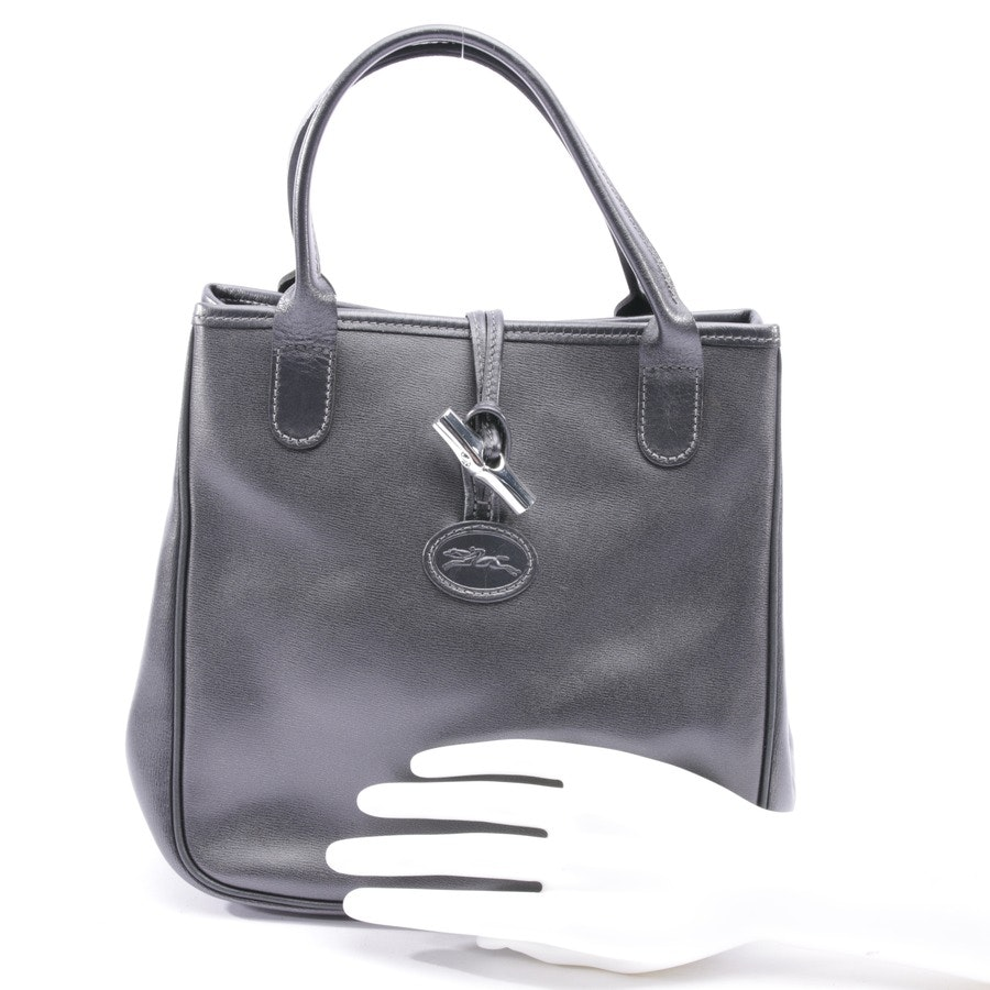 handbag from Longchamp in anthracite
