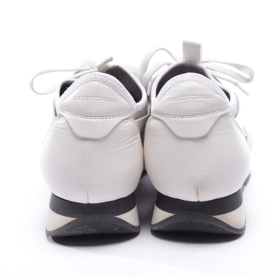 Sneaker von Balenciaga in Weiß und Silber Gr. D 41