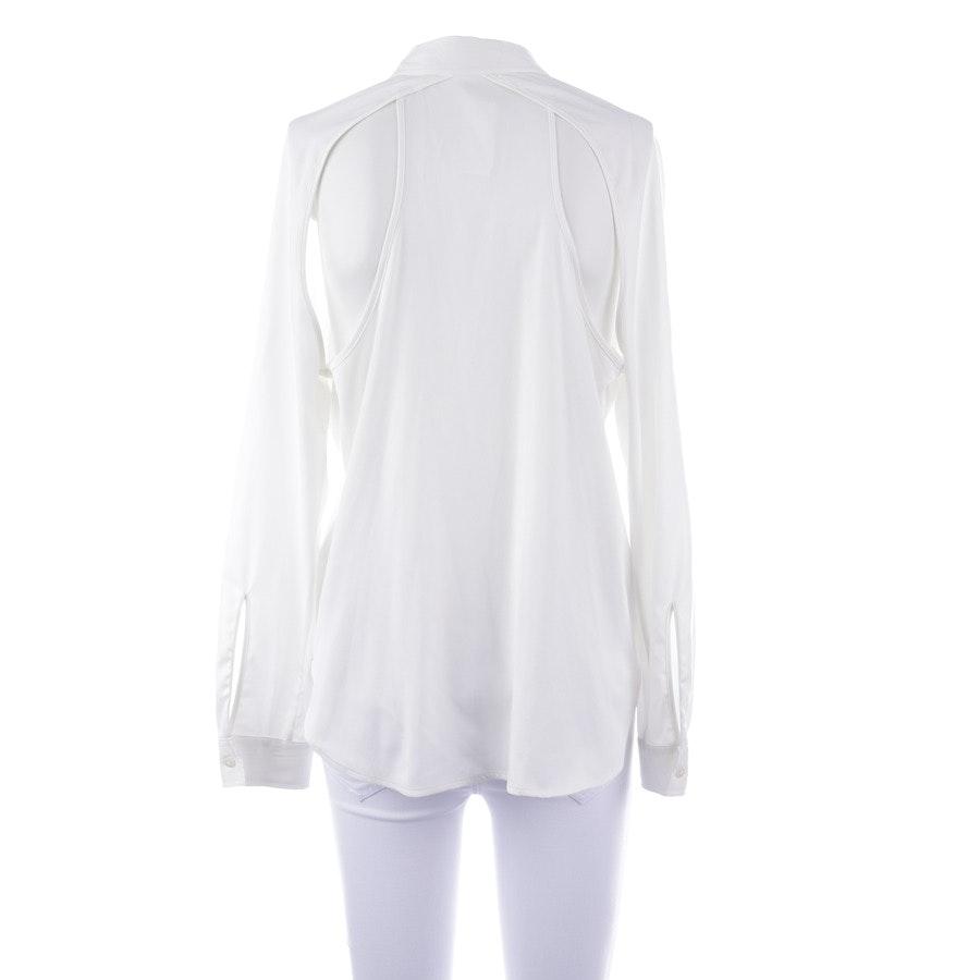 Bluse von Karl Lagerfeld in Weiß und Schwarz Gr. 38 IT 44