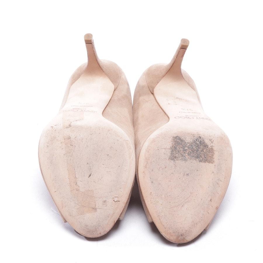 pumps from Jimmy Choo in beige size D 37,5