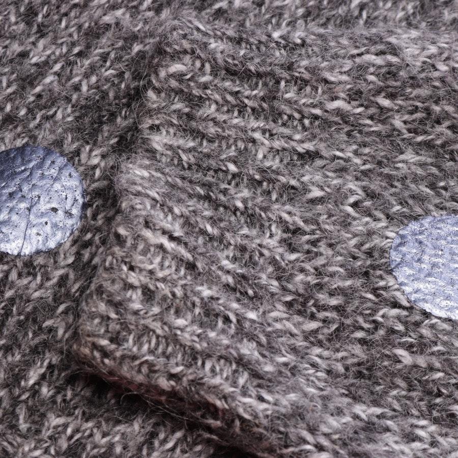 knitwear from Essentiel Antwerp in grey mottled and blue size 42