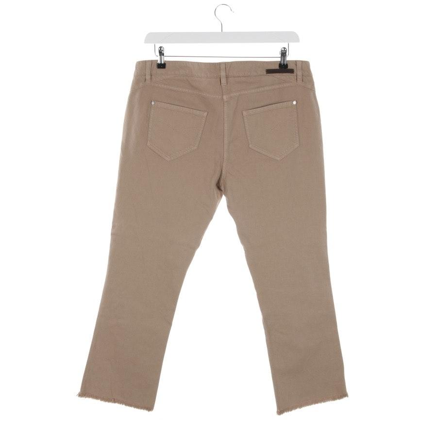 Jeans von Brunello Cucinelli in Beige Gr. 44