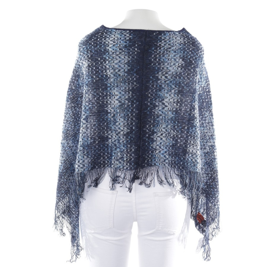 knitwear from Missoni in blue and white size One Size