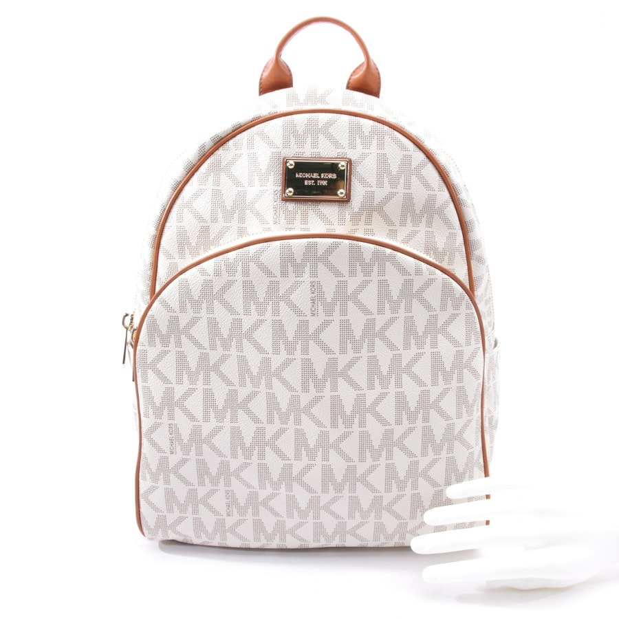backpack from Michael Kors in offwhite and brown - new