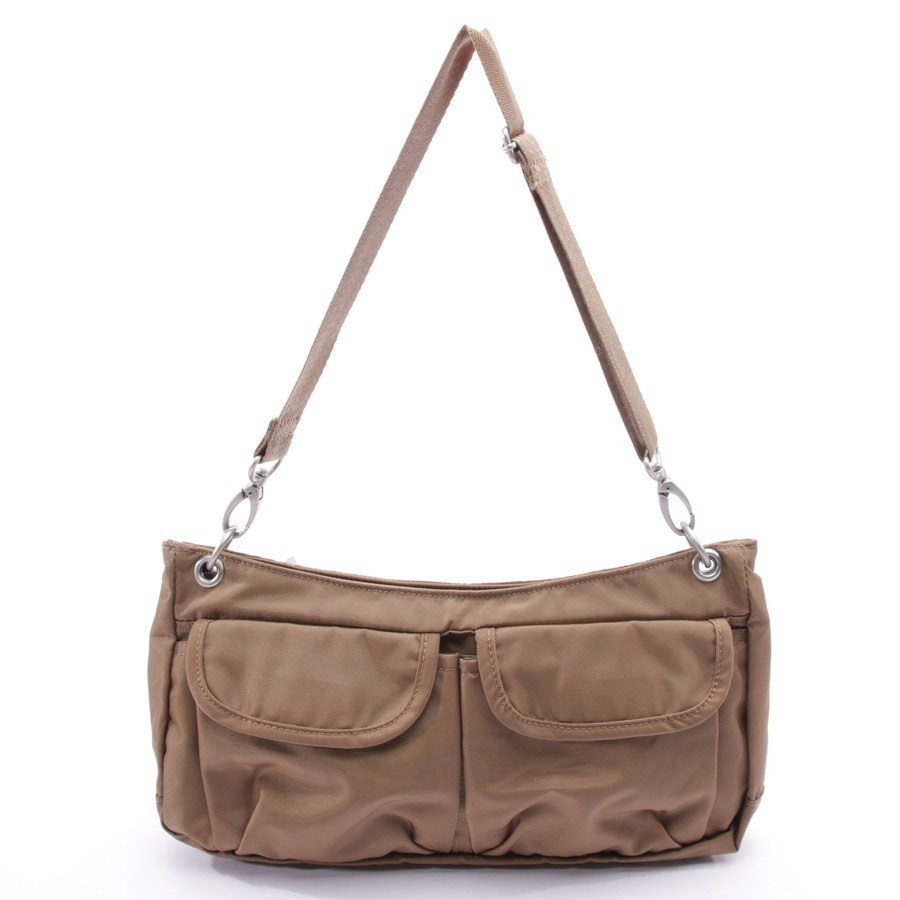 non-leather bags from Bogner in caramel
