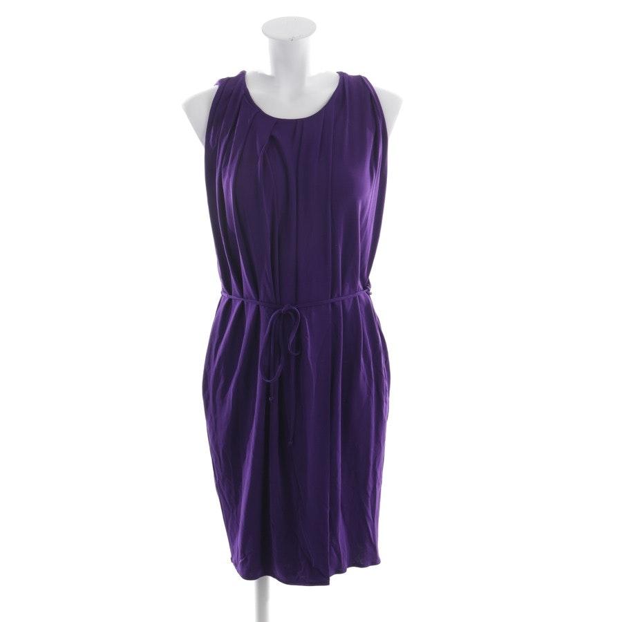 Sommerkleid von Lanvin in Aubergine Gr. 38 FR 40