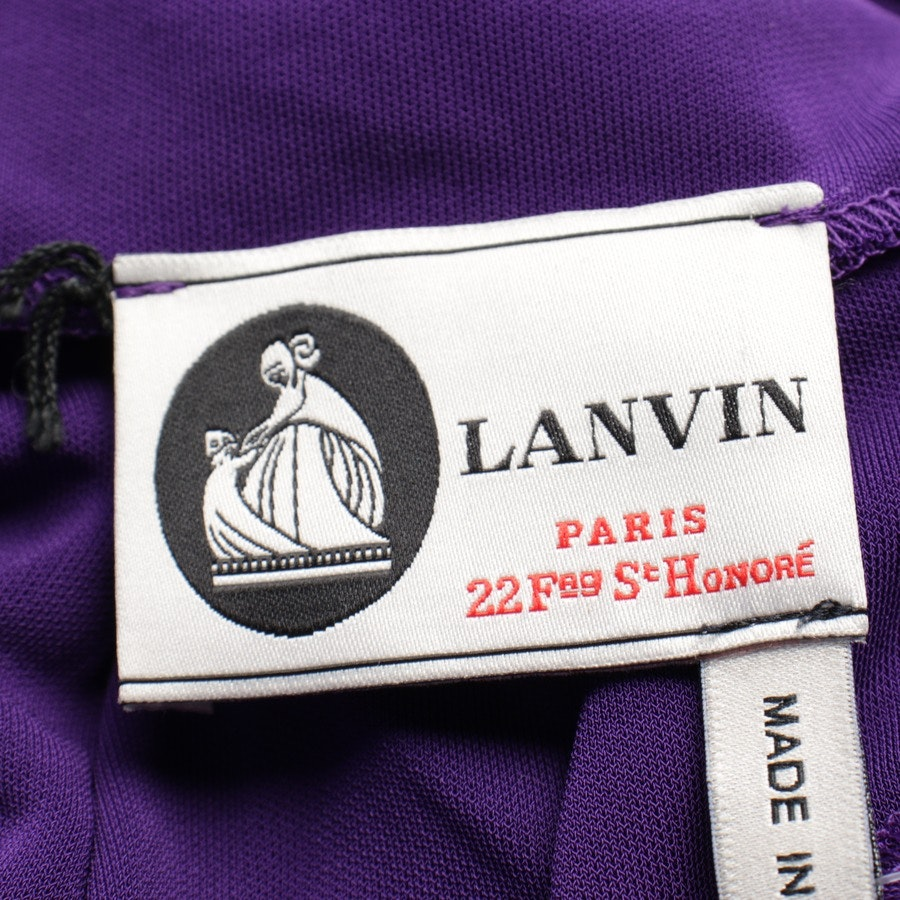 dress from Lanvin in eggplant size 38 FR 40