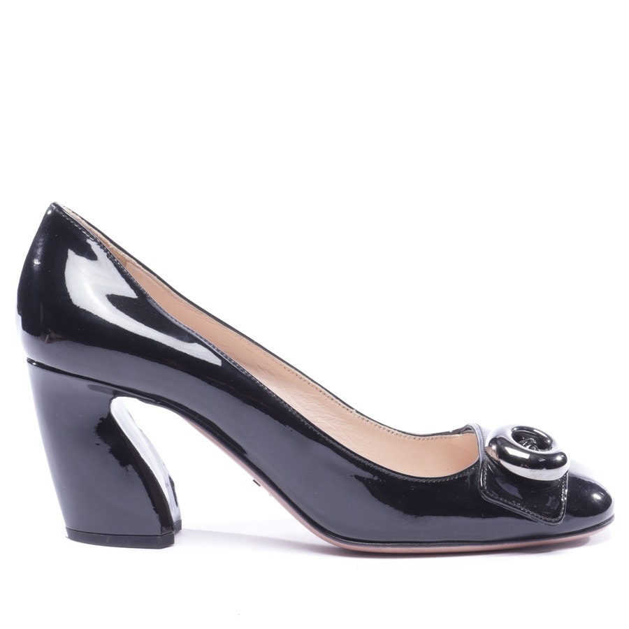 pumps from Prada in black size D 36,5