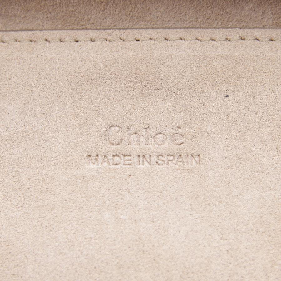 Abendtasche von Chloé in Nachtblau - Faye small