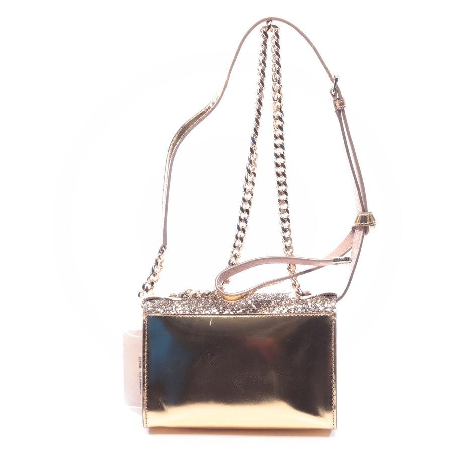 shoulder bag from Jimmy Choo in gold - rebel soft mini - new