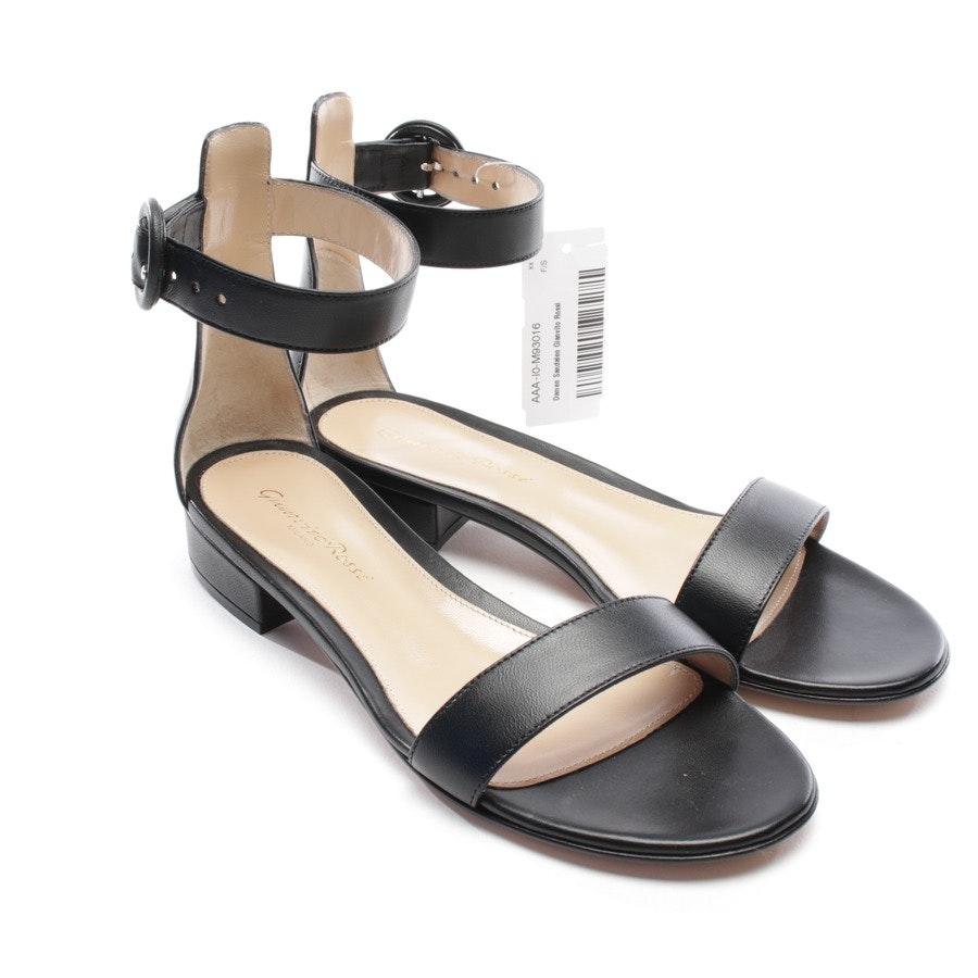 Sandalen von Gianvito Rossi in Schwarz Gr. D 35,5 - Neu