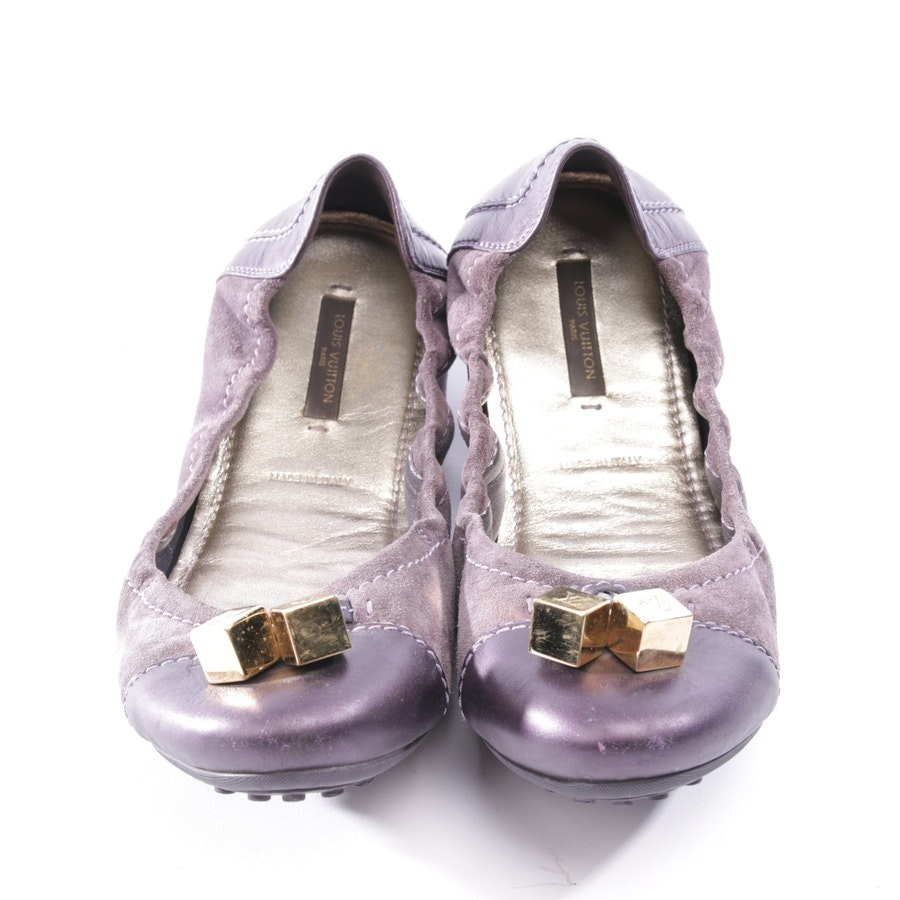 Ballerinas von Louis Vuitton in Lila Gr. EUR 38,5