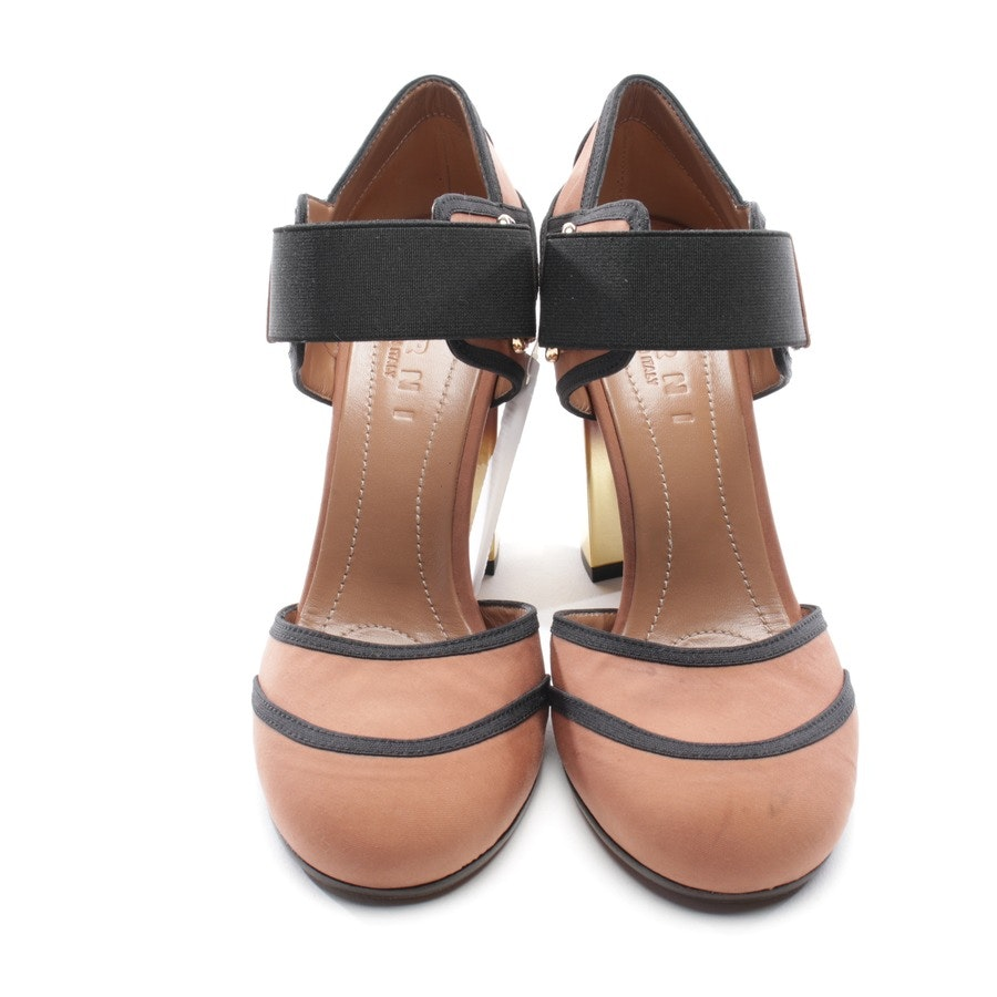 pumps from Marni in old pink and black size D 37 - new mary jane